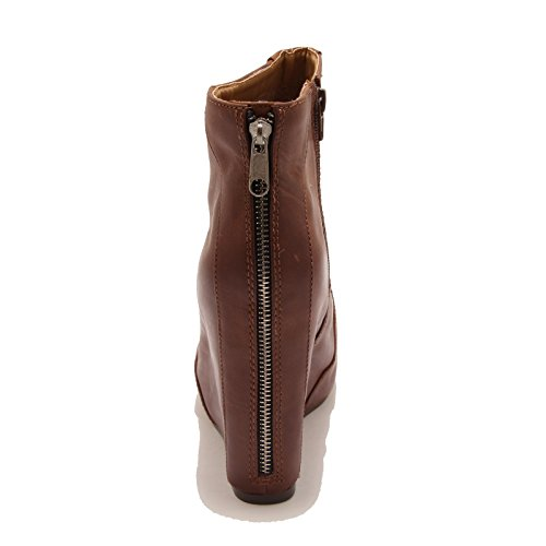 Shoes 70041 Jeffrey Stivale Donna Scarpa Pixie Boots Marrone Tronchetto Zeppa Campbell SqBnwTzqU