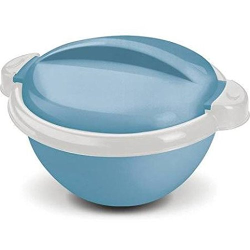 Milton Nova Hot Pot Keep Warm/Cold Insulated Casserole with Stainless Steel Insert, 1500ml/Small, Blue