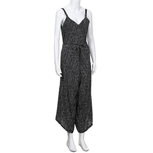 V Femmes Combishort Party Noir Neck Clubwear Strappy Familizo Jumpsuit Bandage Loose 7nUdSUq