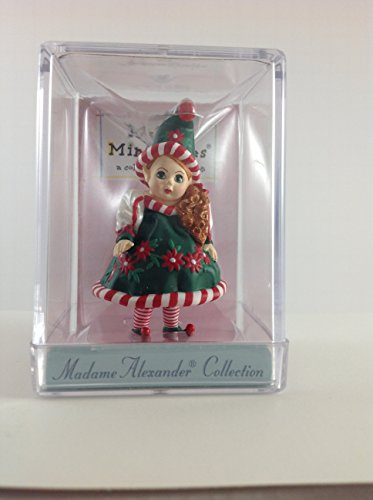 Hallmark Merry Miniatures Madame Alexander Santa's Little Helper Dated 1998