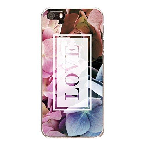 """Disagu Design Case Coque pour Apple iPhone 5 Housse etui coque pochette """"Hortensie_Love"""""""