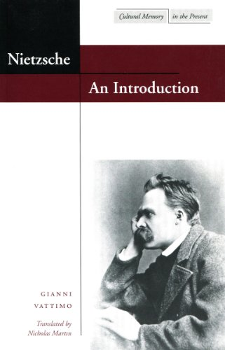 Nietzsche: An Introduction (Cultural Memory in the Present)