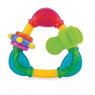 Nuby Spin N' Teethe Teether, Colors May Vary