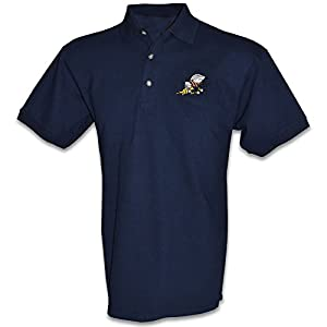 Honor Country US Navy Seabee Polo Golf Shirt - Navy Blue