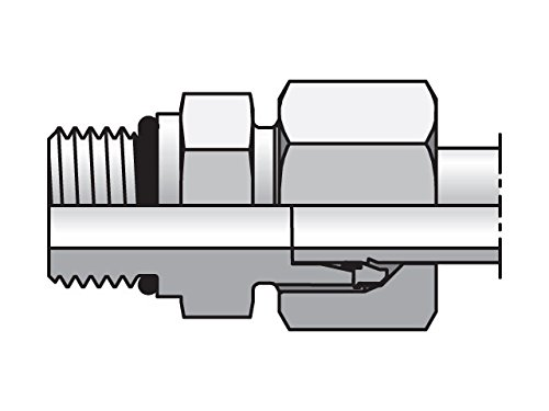 EO/EO-2 Straight, Male Connector - GE-UNF/UN