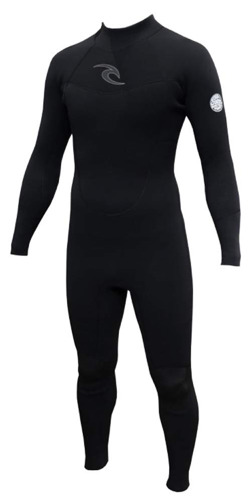 RIPCURL リップカール ウエットスーツ メンズ T30-002 VALUE WETSUIT BACK ZIP バリュー バックジップ 黒(5BLK) Large