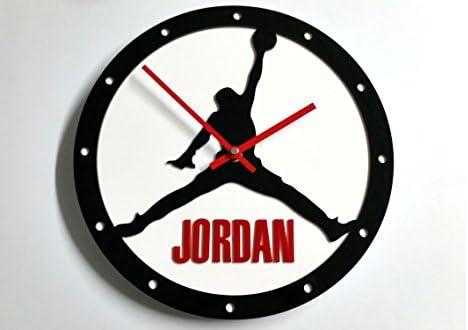 Reloj de pared original Jordan, metacrilato, silencioso, moderno