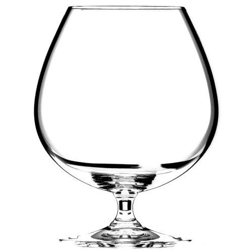Riedel Vinum Leaded Crystal Brandy Cognac Glass, Set of 6