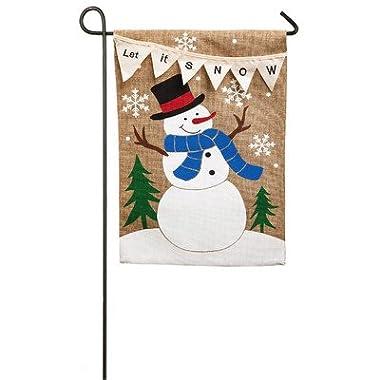 Evergreen Enterprises, Inc Let it Snow Garden Flag