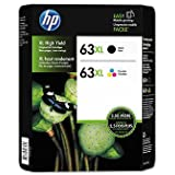 63XL Black/Color Combo Ink Cartridges, 2 pk