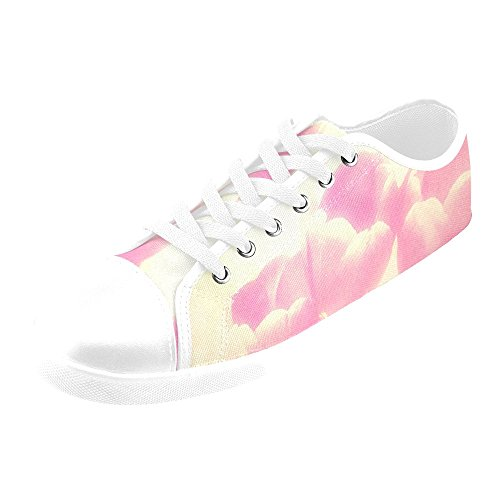 Artsadd Ethereal Tulips Canvas Shoes For Women(Model016)