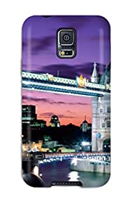 New Style Case Cover OicfQVP7669vYRQo Tower Bridge England Compatible With Galaxy S5 Protection Case