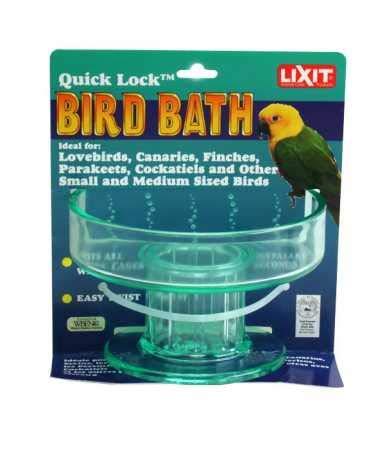 (Lixit Corporation BLX0787 Quick Lock Bird Bath)