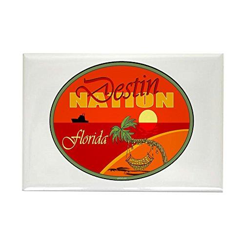 CafePress Destin Florida Rectangle Magnet Rectangle Magnet, 2