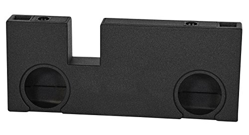 Ported Dual 12″ Subwoofer Sub Box Enclosure for 2007-17 Toyota Tundra Double Cab