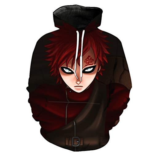 COGA Kazekage Sabaku No Gaara Hoodie 4 Asian M for sale  Delivered anywhere in USA