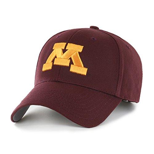 NCAA Minnesota Golden Gophers OTS All-Star MVP Adjustable Hat, Dark Maroon, One Size