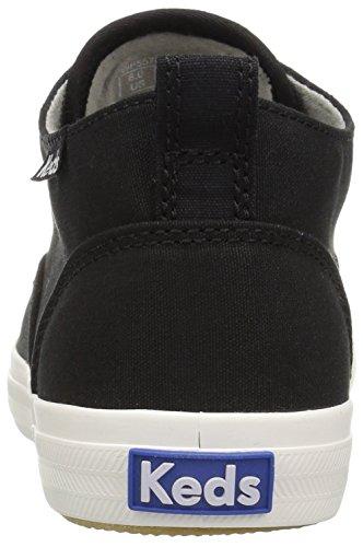 Sneaker Nero Moda Mid Sneakers Da Donna Keds