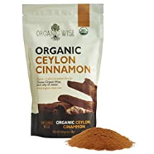 Organic Wise Ceylon Cinnamon Ground Powder, 1 lb-From a USDA Certified Organic Farm in Sri Lanka and Packed In The USA