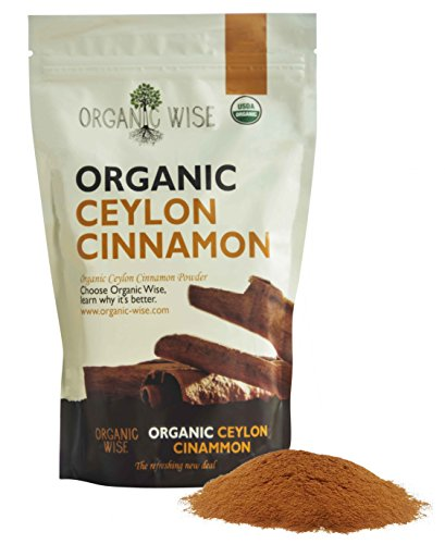 Organic Wise Ceylon Cinnamon Ground Powder, 1 lb-From a USDA Certified Organic Farm and Packed In The - Popular In Stores Usa