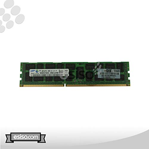 HP 32GB (4 X 8GB) Kit 8GB Dual Rank X 4 PC3-10600R-9 1333MHz 1.50V Registered Dual In-line Memory Module (RDIMM) (Renewed)