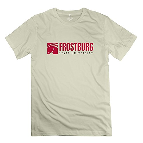 Leberts Cool Frostburg State University T-Shirt For Men Natural Size XXL (Honus Wagner Shirt compare prices)