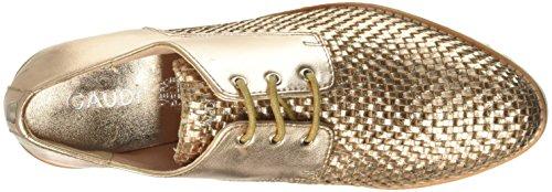 Femme Or Gold Cristal Derbys V0030 Gaudì qpWa06n