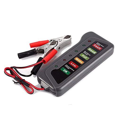 Car Battery Tester Analyzer,Car Battery Tester And Charger,2Car Battery Testers Battery Checker,4V LED battery car motorcycle yacht battery battery tester,battery test,A: Garden & Outdoors