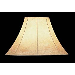Faux leather lamp shades for sale lite source ch116 16 faux leather bell shade aloadofball Choice Image