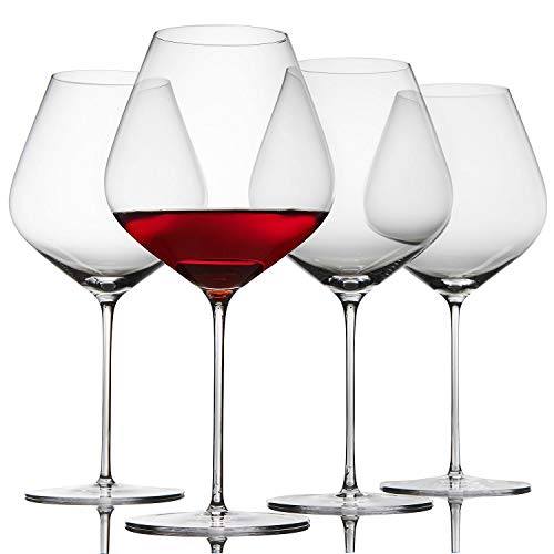 Fusion Air Pinot Noir Wine Glasses -Set of 4