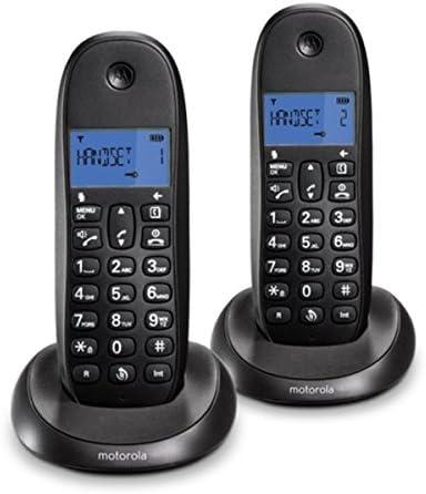Teléfonos inalámbricos DECT Motorola Classic LITE C10 Duo