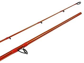 Carrot Stix Collapsible 2 Piece Casting Wild Wild Orange Giant Salmon Steelhead Fishing Rod