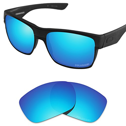 Tintart Performance Replacement Lenses for Oakley TwoFace Sunglass Polarized - Polarized View Vivid Sunglasses