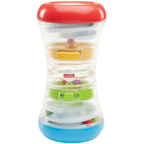 Fisher Price 3-in1 Baby Crawl Along Tumble Tower Toy for Toddler