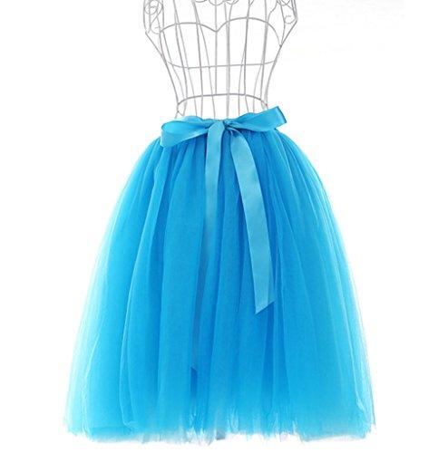 Super Modern - Vestido - trapecio - para mujer Blue(008)