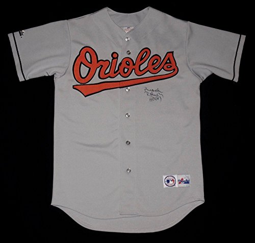 Brooks Robinson Autographed Jersey (baltimore Orioles) W/Proof! - Autographed MLB Jerseys