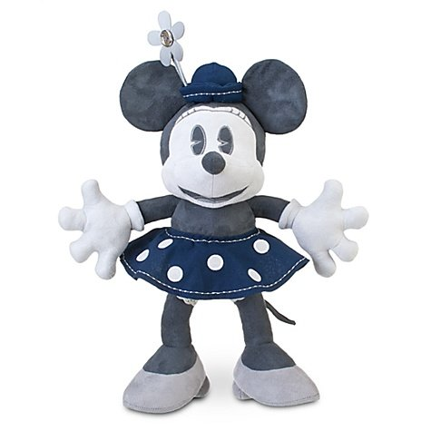 (D23 Exclusive 25th Anniversary Minnie Mouse Plush Toy -- 19'' H by Disney)