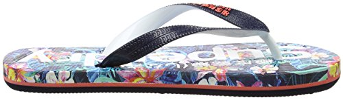 Multicolore Aop marbelled Femme Superdry Hawaiian Tropical Tongs v6wxtt
