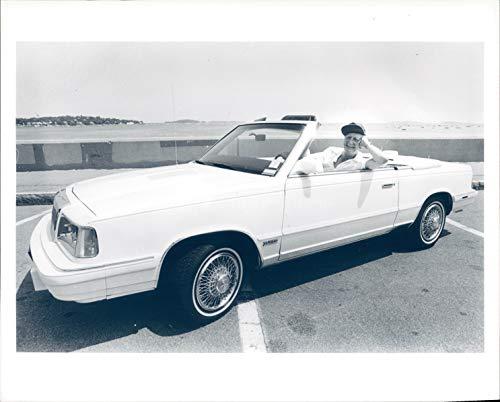 (Vintage Photos 1986 Photo Top Convertible Leo Pilachowski Baby Chrysler Lebaron Turbo Car)