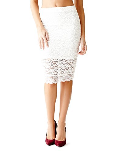 GUESS-Womens-Ertha-Lace-Midi-Skirt