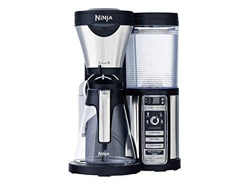 Ninja Coffee Bar Brewer, Glass Carafe, Silver (Renewed)