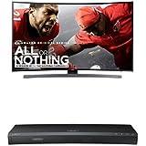 Samsung UN55KU6600 Curved 55-Inch TV with UBD-K8500 4K Blu-ray Player