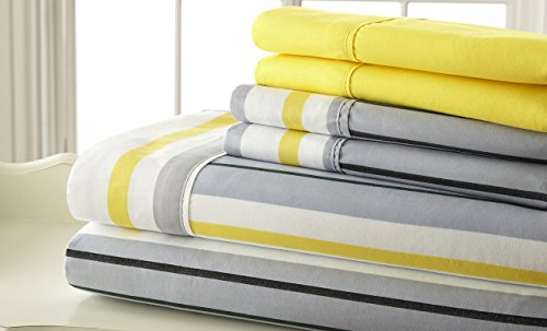 6 Piece Bed Sheet Set Pillowcases product image