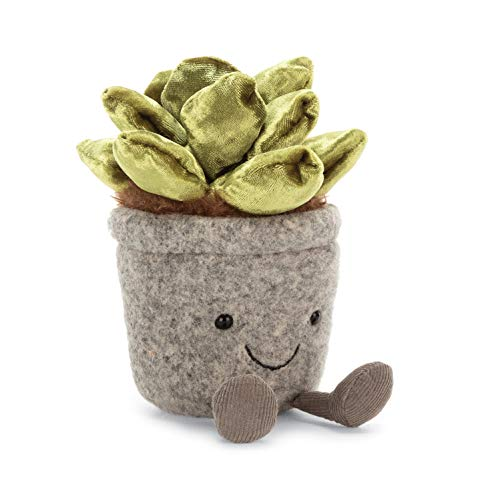 Jellycat Silly Succulent Jade Plush, 7 inches