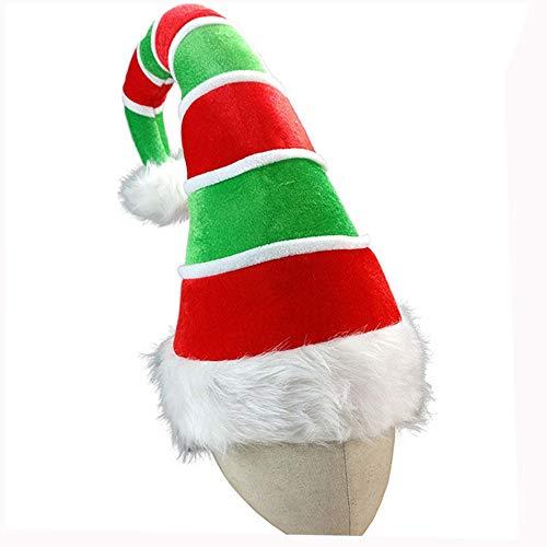 86447e5355e ZWNSWD WMA-Sombrero De Payaso Gorro Navideño Elfo Payaso Sombrero De  Terciopelo Sombrero De Navidad