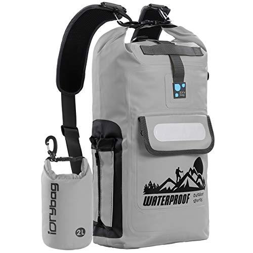 IDRYBAG Waterproof Backpack Floating