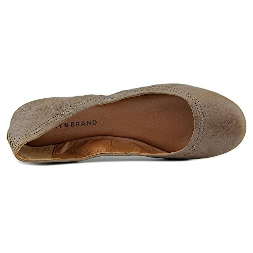 Brindle Women's Veg Ballerina Emmie Leather Lucky Brand Flat BXqAPv