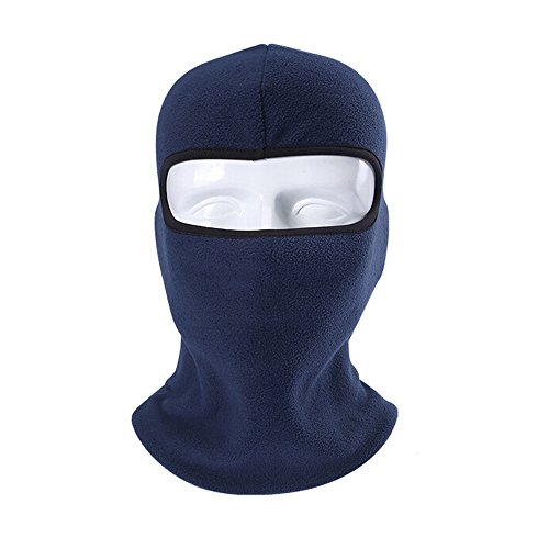 Fleece Balaclava Full Face Mask Neck Hat Ski Mask Women & Men Winter Face Mask Balaclava Face Mask for Cold Weather Windproof Winter Hat Neck Warmer Snowboard Cycling Hat Balaclava Face Mask