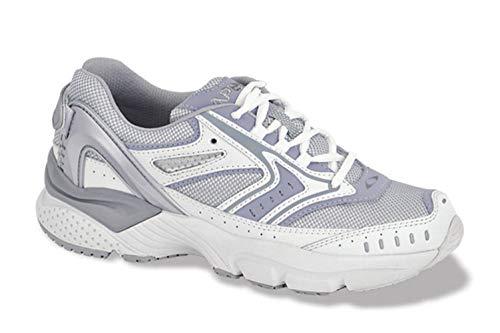 Apex X532W Reina Running Shoe, White/Periwinkle, 7
