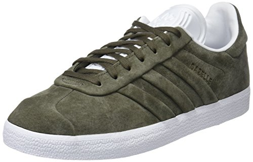 adidas Gazelle Stitch and Turn, Scarpe da Ginnastica Basse Uomo Marrone (Branch/Branch/Footwear White)